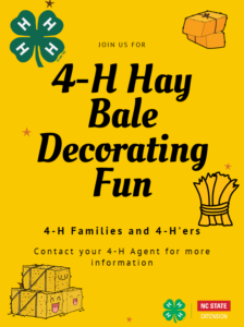 Cover photo for 4-H Hay Bale Decorating Competition