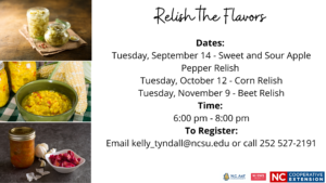 Cover photo for Relish the Flavors
